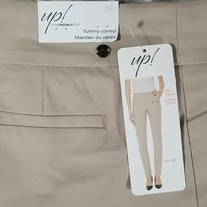 UP! Thin Credible! Fit Pull On Dress Pants